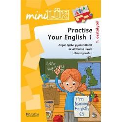 Foglalkoztató füzet Mini LÜK Practise Your English 1-gyakorlófüzet