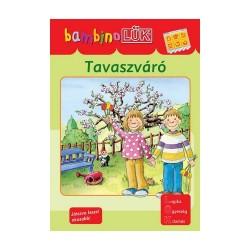 Foglalkoztató füzet Bambino LÜK Tavaszváró - Alapozó feladatok óvodásoknak 1.