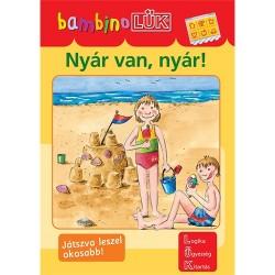 Foglalkoztató füzet Bambino LÜK Nyár van, nyár! - Alapozó feladatok óvodásoknak 2.