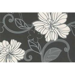 Kreatív papír tapéta méret 0,53 x 10 m Szürke-virágos
