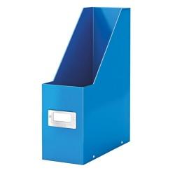 Iratpapucs karton Esselte CLICK&STORE A/4 lakkfényű kék