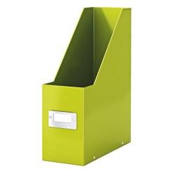 Iratpapucs karton Esselte CLICK&STORE A/4 lakkfényű zöld