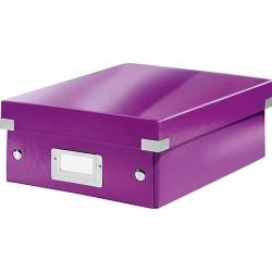 Rendszerező doboz Leitz CLICK&STORE S méret, lila