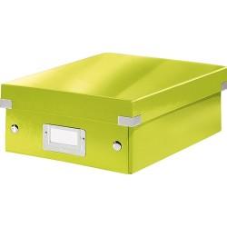 Rendszerező doboz Leitz CLICK&STORE S méret, zöld