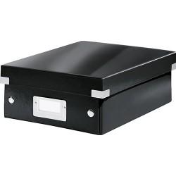 Rendszerező doboz Leitz CLICK&STORE S méret, fekete