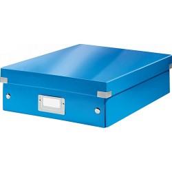 Rendszerező doboz Leitz CLICK&STORE M méret, kék