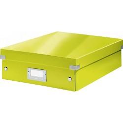 Rendszerező doboz Leitz CLICK&STORE M méret, zöld