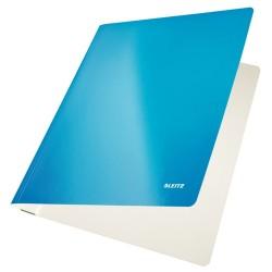 Gyorsfűző Leitz Wow Lakkfényű karton kék