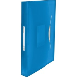 Harmonika irattartó Esselte Vivida PP, kék