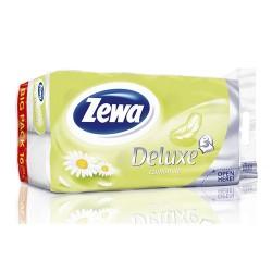 Toalettpapír Zewa 3 rétegű cellulóz 16 tekercs/csomag kamilla