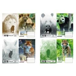 Füzetborító A/5 16 Wild Animals