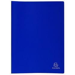 Bemutatómappa Exacompta A/4 40 részes kék
