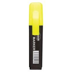 Szövegkiemelő Centrum 1-5 mm lapos test sárga