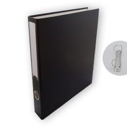 Gyűrűs könyv PD A/4 2 gyűrűs 45 mm gerinccel fekete