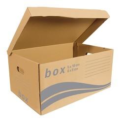 Archiváló konténer Fornax 540x254x360 mm felfelé nyíló tetővel