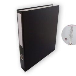 Gyűrűs könyv PD A/4 4 gyűrűs 45 mm gerinccel fekete