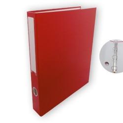 Gyűrűs könyv PD A/4 4 gyűrűs 45 mm gerinccel piros