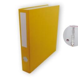 Gyűrűs könyv PD A/4 4 gyűrűs 45 mm gerinccel sárga