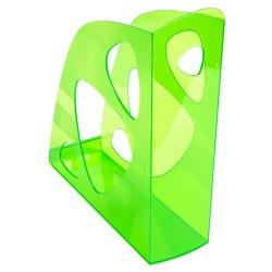 Iratpapucs műanyag Exacompta Ecomag A/4+ 7,7 cm gerinccel áttetsző almazöld
