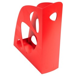 Iratpapucs műanyag Exacompta Ecomag A/4+ 7,7 cm gerinccel piros