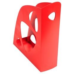 Iratpapucs műanyag Exacompta/Multiform A/4 7,7 cm piros
