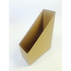 Iratpapucs karton összehajtható pd A/4 10 cm gerinccel karton natúr