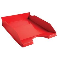 Irattálca műanyag Exacompta Ecotray A/4+ piros