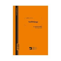 Tüzifa vásárlói tájékoztató 50 lapos B/5-ös tömb