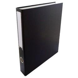 Gyűrűs könyv A/4 4 gyűrűs 35 mm gerinccel fekete