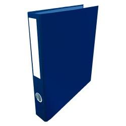 Gyűrűs könyv A/4 4 gyűrűs 35 mm gerinccel kék
