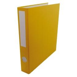 Gyűrűs könyv A/4 4 gyűrűs 35 mm gerinccel sárga