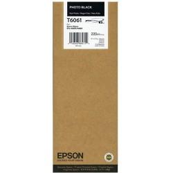 Tintapatron Epson C13T606100 Photo Black eredeti 220ml
