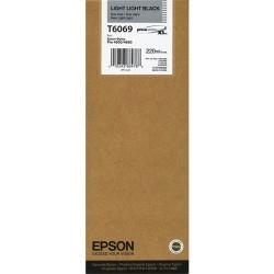 Tintapatron Epson C13T606900 Light Light Black eredeti 220ml
