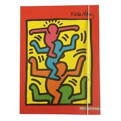 Füzetbox A/4 Keith Haring 3 cm