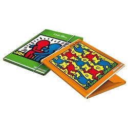 Gumis mappa A/4 Keith Haring 1,2 cm