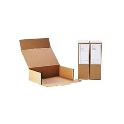 Archiváló doboz irattári A4 375x250x115 mm