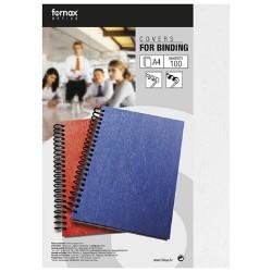 Hátlap Fornax A/4 250gr 1/100 matt (bőrhatású) fehér