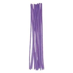 Kreatív zsenilia szálak 29 cm 16 db/csomag lila