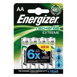 Elem Energizer tölthető-akkuelem 800mA HR03 AAA mikro Extreme 4 db/csomag