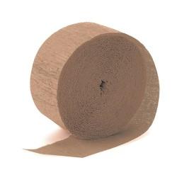 Krepp-papír 200x50 cm világos barna