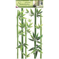 Dekormatrica fali 69x32 cm bambusz
