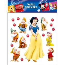 Dekormatrica fali Disney 30x30 cm Hófehérke