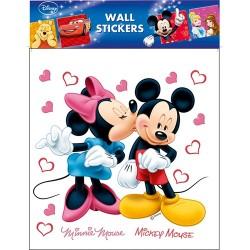 Dekormatrica fali Disney 30x30 cm Minnie & Mickey