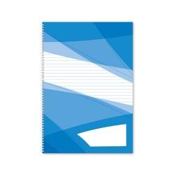 Spirálfüzet pd A/4-60 lapos vonalas