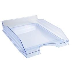 Irattálca műanyag Exacompta Ecotray A/4+ áttetsző kék