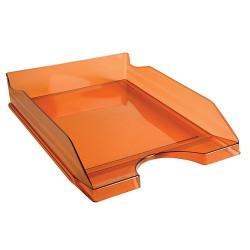 Irattálca műanyag Exacompta Ecotray A/4+ áttetsző mandarin