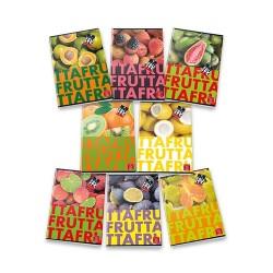 Füzet Pigna Fruits A/4 tűzött 42 lapos sima
