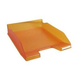 Irattálca műanyag Exacompta Combo Midi A/4+ áttetsző mandarin