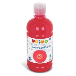 Tempera PRIMO 500ml, piros 380