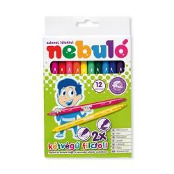 Rostirón Nebuló színes kétvégű 12 db-os klt